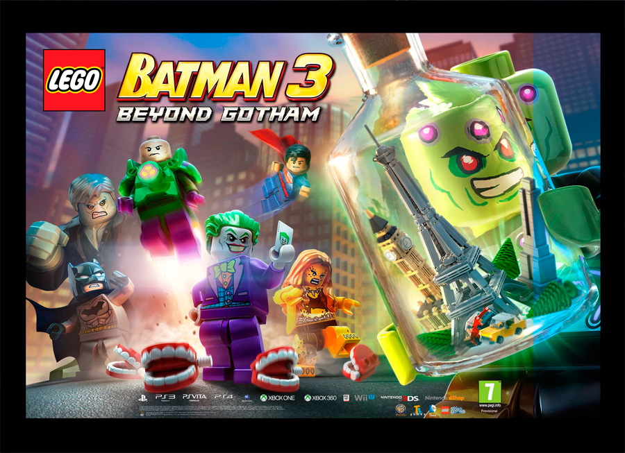 Lego Batman 3 Beyond Gotham Xbox 360 Microplay