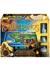 Puzzle 2100 Piezas Lord of the Rings Middle Earth 4D Cityscape