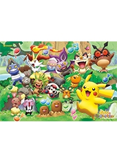 Puzzle Pokemon XY The Movie Musical Band 108 Piezas Jigsaw
