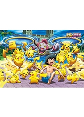 Puzzle Pokemon Hoopa The Movie Lots Of Pikachu 108 Piezas Jigsaw