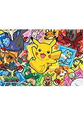 Puzzle Pokemon XY The Movie Colorful Art 300 Piezas Jigsaw