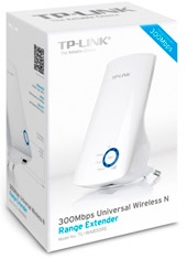 Repetidor Inalámbrico N 300 Mbps TL-WA850RE TP-Link