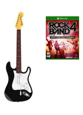 Rock Band 4 Xbox One + Guitarra Wireless Fender Stratocaster