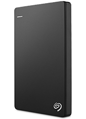 Disco Duro Backup Plus Slim Black 1TB Seagate