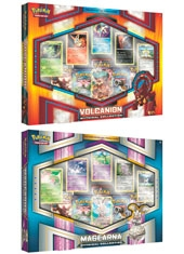 Set Box Cartas Pokemon Volcanion/Magearna Mythical Collection