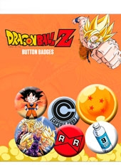 Set de Chapas Dragon Ball Z