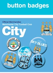 Set de Chapas Manchester city