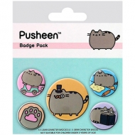 Set De Chapas Pusheen The Cat Fancy
