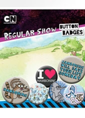 Set de Chapas Regular Show