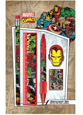 Set Escritorio Marvel Comics Iron Man SR71693