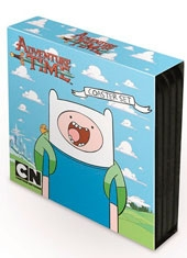 Set Posavasos Adventure Time