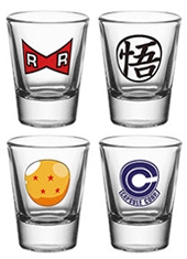 Set Vasos Chupito Dragon Ball Z