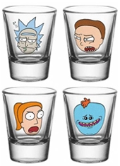 Set Vasos Chupito Rick and Morty