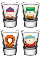 Set Vasos Chupito South Park