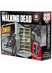 Set de Construcción The Walking Dead 109 piezas Lower Prison Cell