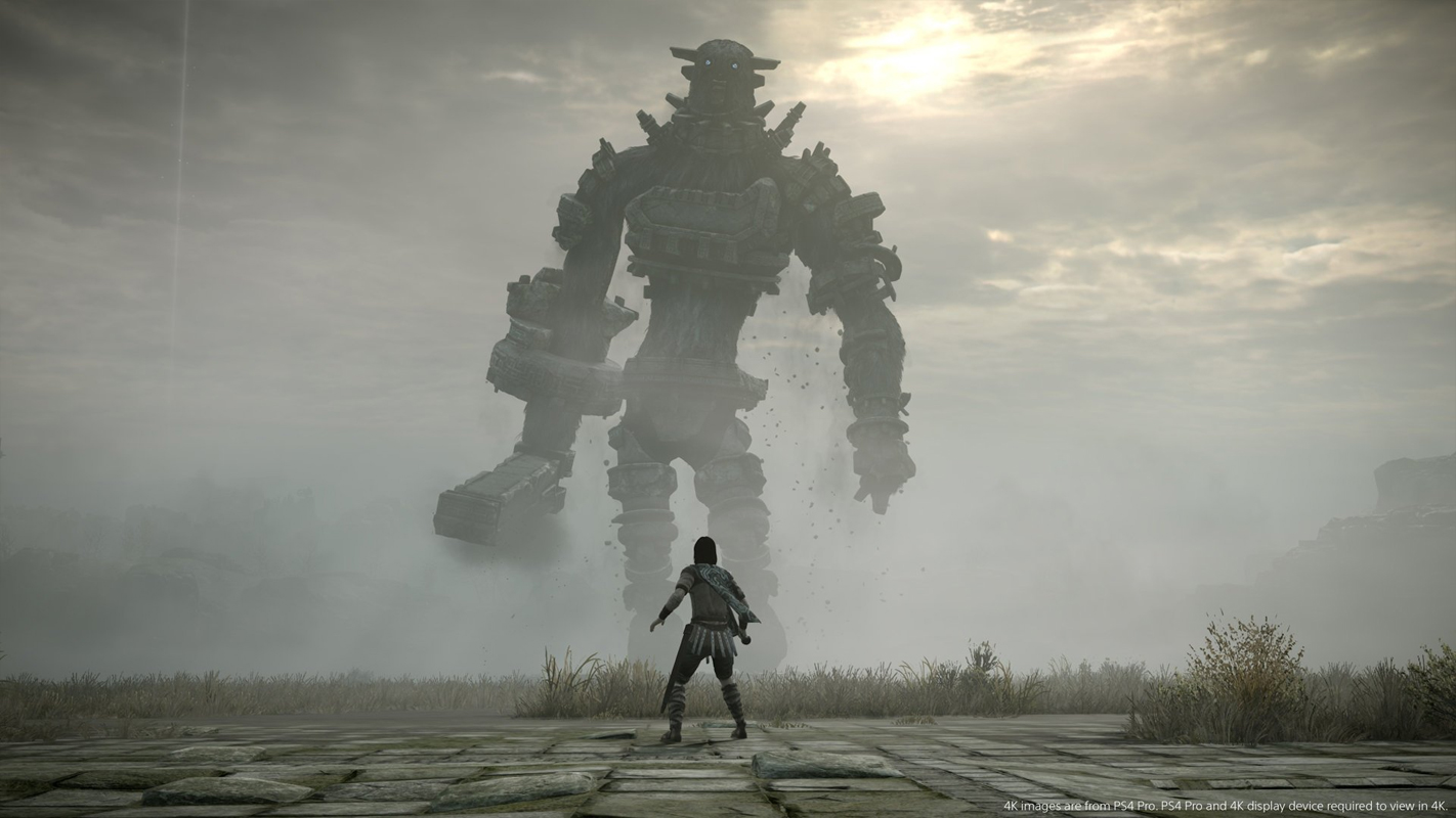 Shadow of the Colossus llega a PS4
