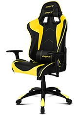 Silla Gaming DR300 Negro / Amarillo Drift