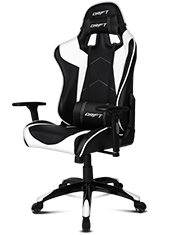 Silla Gaming DR300 Negro / Blanco Drift