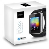 Smartwatch Bluetooth Inclock Silver Microlab