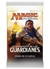 Sobre Cartas Magic The Gathering Juramento de los Guardianes
