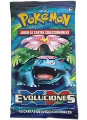 Sobre cartas Pokemon XY Evolutions español TCG