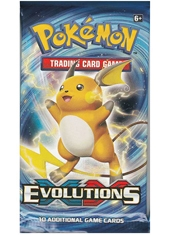Sobre Cartas Pokemon XY Evolutions Inglés