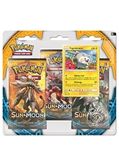 Sobres Cartas Pokemon Sun & Moon 3 Pack