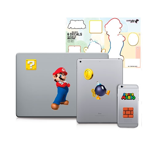 Sticker Decal Mini Super Mario Evergreen Super Mario
