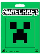 Sticker Minecraft Creeper Face