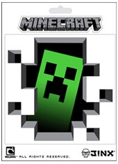 Sticker Minecraft Creeper Inside