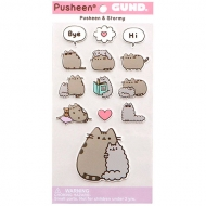 Sticker Pusheen The Cat Pusheen And Stormy
