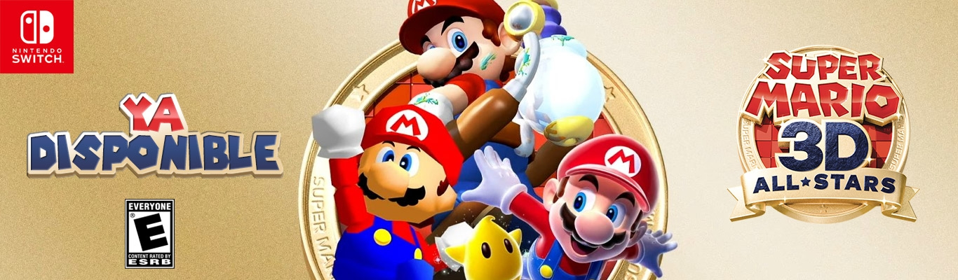 Super Mario 3D All-Stars DISPONIBLE!