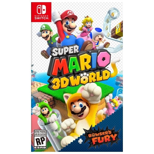 Super Mario 3D World + Bowsers Fury Switch