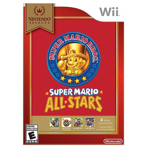 Super Mario All Stars Nintendo Selects Wii