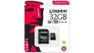 Tarjeta Micro SDHC 32GB Canvas Select Kingston