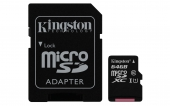 tarjeta,memoria,sd,kingston,adaptador,64gb