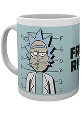 Tazón Rick and Morty Free Rick