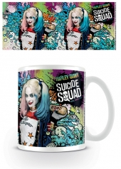 Tazón, tazon, Suicide Squad, suicidesquad, Harley Quinn Crazy, harley quinn, harleyquinn