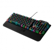 Teclado Titan Mechanical Ultra Red Tier One