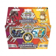 Trainer Kit Cartas Pokemon Sun & Moon Lycanroc & Alolan Raichu inglés