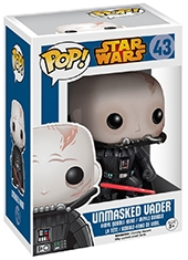 Figura POP! Star Wars Unmasked Darth Vader