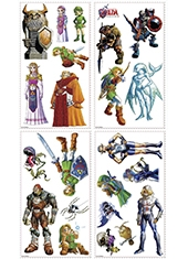 Adhesivos para muro Wall Decals The Legend Of Zelda Ocarina Of Time 3D