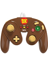Control Fight Pad Wii U Super Smash Bros Donkey Kong PDP