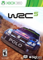 WRC 5 FIA World Rally Championship Xbox 360
