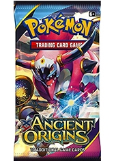 Sobre Cartas Pokemon XY7 Ancient Origins TCG