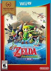 The Legend of Zelda The Wind Waker HD Nintendo Selects Wii U